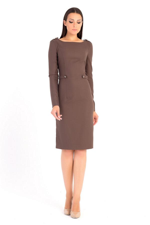 Платье XARIZMASПлатья<br><br><br>Размер RU: 40<br>Пол: Женский<br>Возраст: Взрослый<br>Материал: эластан 5%, полиэстер 55%, вискоза 40%<br>Цвет: Коричневый