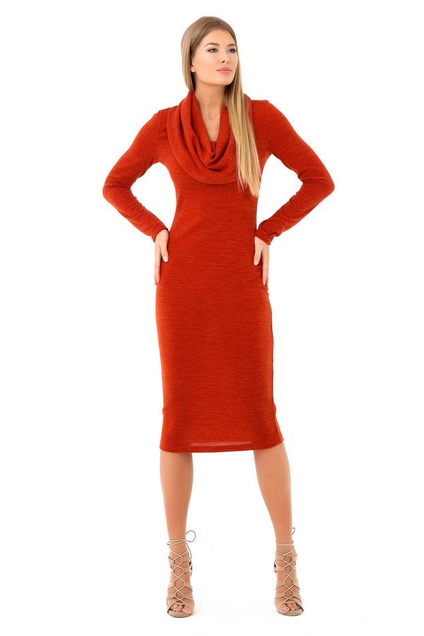 Платье XARIZMASПлатья<br><br><br>Размер RU: 42<br>Пол: Женский<br>Возраст: Взрослый<br>Материал: эластан 5%, полиэстер 95%<br>Цвет: Оранжевый