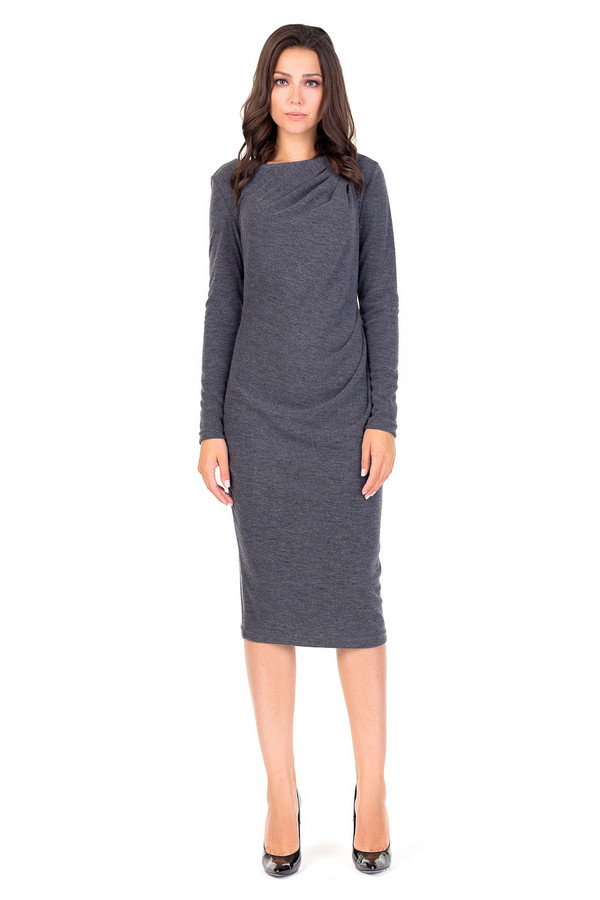 Платье XARIZMASПлатья<br><br><br>Размер RU: 46<br>Пол: Женский<br>Возраст: Взрослый<br>Материал: эластан 6%, полиэстер 69%, вискоза 25%<br>Цвет: Серый