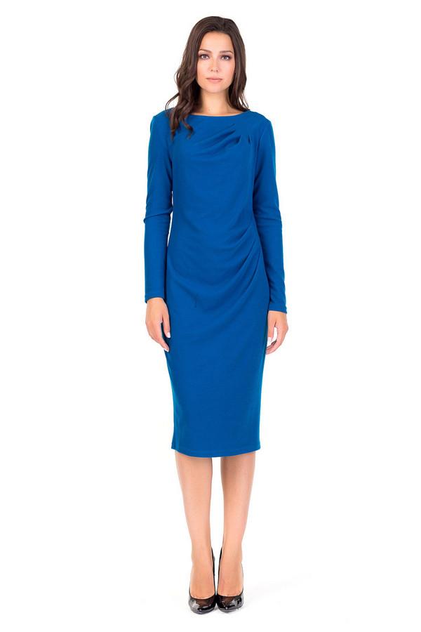 Платье XARIZMASПлатья<br><br><br>Размер RU: 44<br>Пол: Женский<br>Возраст: Взрослый<br>Материал: эластан 6%, полиэстер 69%, вискоза 25%<br>Цвет: Синий