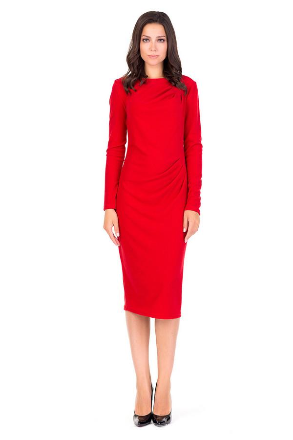 Платье XARIZMASПлатья<br><br><br>Размер RU: 44<br>Пол: Женский<br>Возраст: Взрослый<br>Материал: эластан 6%, полиэстер 69%, вискоза 25%<br>Цвет: Красный