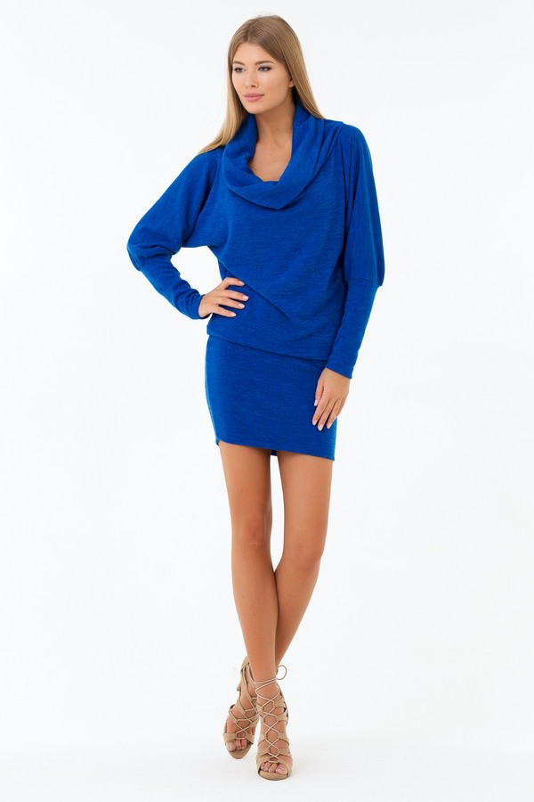 Платье XARIZMASПлатья<br><br><br>Размер RU: 44<br>Пол: Женский<br>Возраст: Взрослый<br>Материал: эластан 5%, полиэстер 95%<br>Цвет: Синий