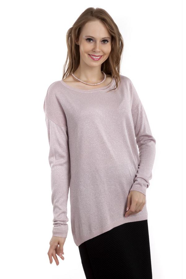 Интернет-магазин одежды kanzler-style.ruСветло-розовый пуловер Betty Barclay с люрексом свободного кроя. Изделие дополнено: вырезом-лодочка, классическими рукавами кимоно и удлиненной спинкой. Добавит нотку нежности и женственности повседневному образу и прекрасно будет смотреться с  леггинсами  и  джинсами .<br><br>Размер RU: 50<br>Пол: Женский<br>Возраст: Взрослый<br>Материал: полиэстер 15%, вискоза 77%, полиамид 8%<br>Цвет: Серебристый