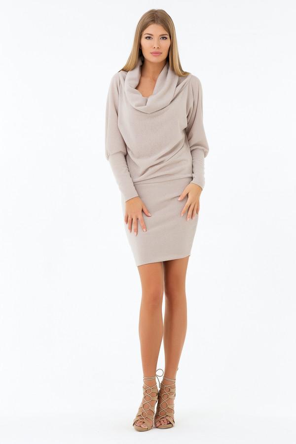 Платье XARIZMASПлатья<br><br><br>Размер RU: 42<br>Пол: Женский<br>Возраст: Взрослый<br>Материал: эластан 5%, полиэстер 95%<br>Цвет: Бежевый