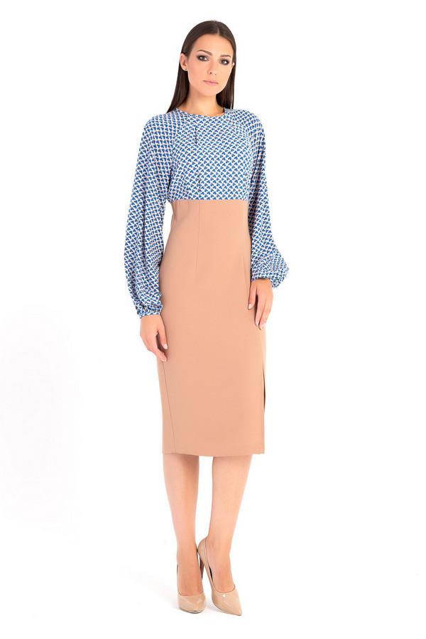 Платье XARIZMASПлатья<br><br><br>Размер RU: 44<br>Пол: Женский<br>Возраст: Взрослый<br>Материал: эластан 5%, вискоза 30%, полиэстер 65%<br>Цвет: Синий