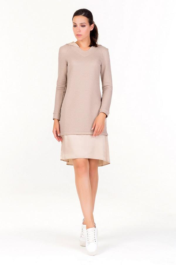 Платье XARIZMASПлатья<br><br><br>Размер RU: 46<br>Пол: Женский<br>Возраст: Взрослый<br>Материал: эластан 5%, полиэстер 25%, хлопок 70%<br>Цвет: Бежевый