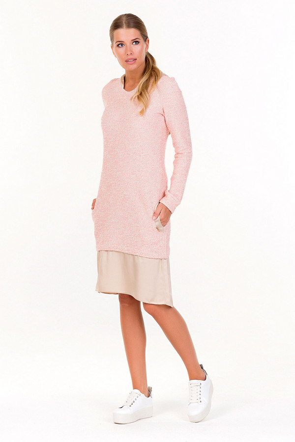 Платье XARIZMASПлатья<br><br><br>Размер RU: 44<br>Пол: Женский<br>Возраст: Взрослый<br>Материал: эластан 5%, полиэстер 25%, хлопок 70%<br>Цвет: Бежевый