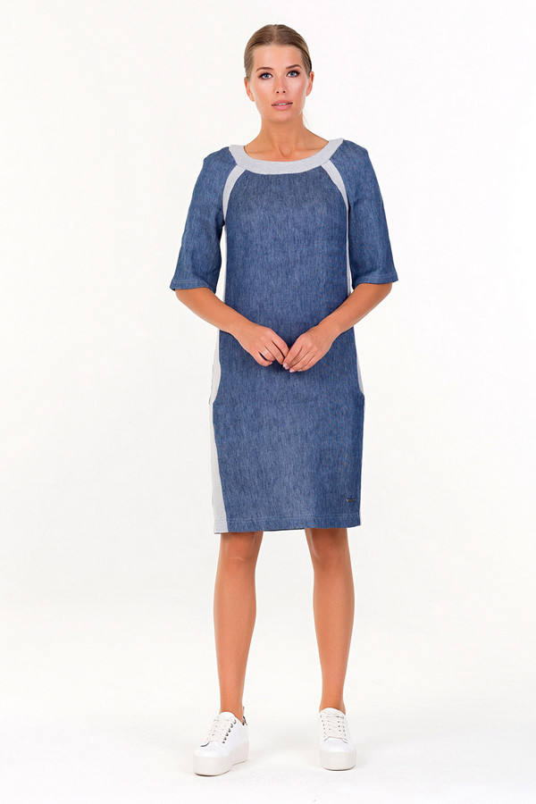 Платье XARIZMASПлатья<br><br><br>Размер RU: 44<br>Пол: Женский<br>Возраст: Взрослый<br>Материал: эластан 5%, полиэстер 25%, хлопок 70%<br>Цвет: Голубой