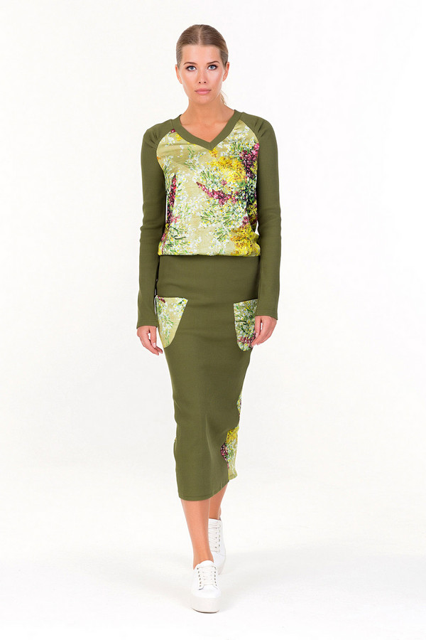 Платье XARIZMASПлатья<br><br><br>Размер RU: 46<br>Пол: Женский<br>Возраст: Взрослый<br>Материал: эластан 5%, полиэстер 25%, хлопок 70%<br>Цвет: Разноцветный