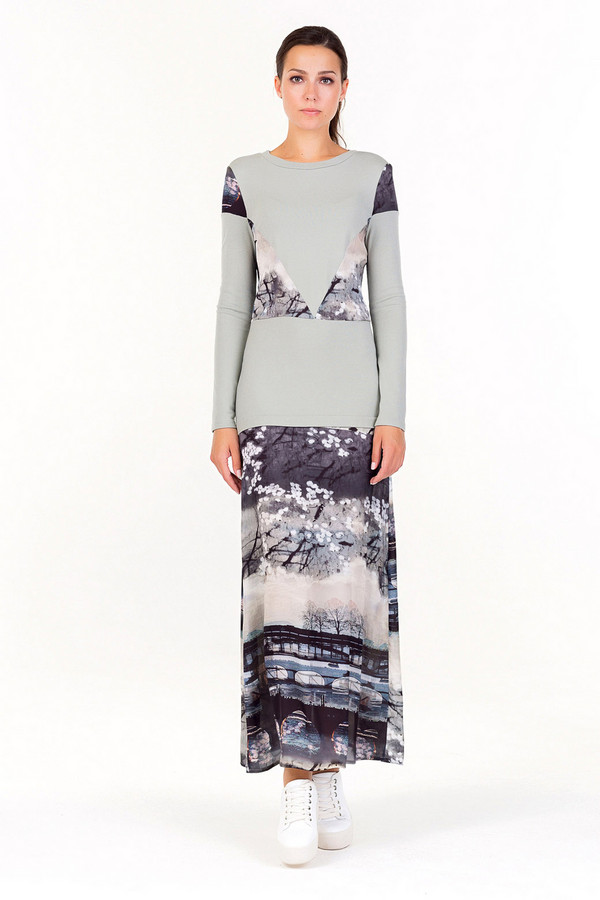 Платье XARIZMASПлатья<br><br><br>Размер RU: 44<br>Пол: Женский<br>Возраст: Взрослый<br>Материал: эластан 5%, вискоза 95%<br>Цвет: Разноцветный