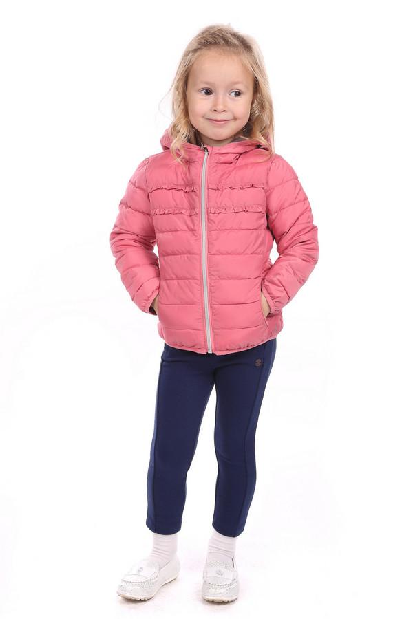 Куртка s.OliverКуртки<br><br><br>Размер RU: 30;122<br>Пол: Женский<br>Возраст: Детский<br>Материал: полиэстер 100%, Состав_подкладка полиэстер 100%<br>Цвет: Розовый