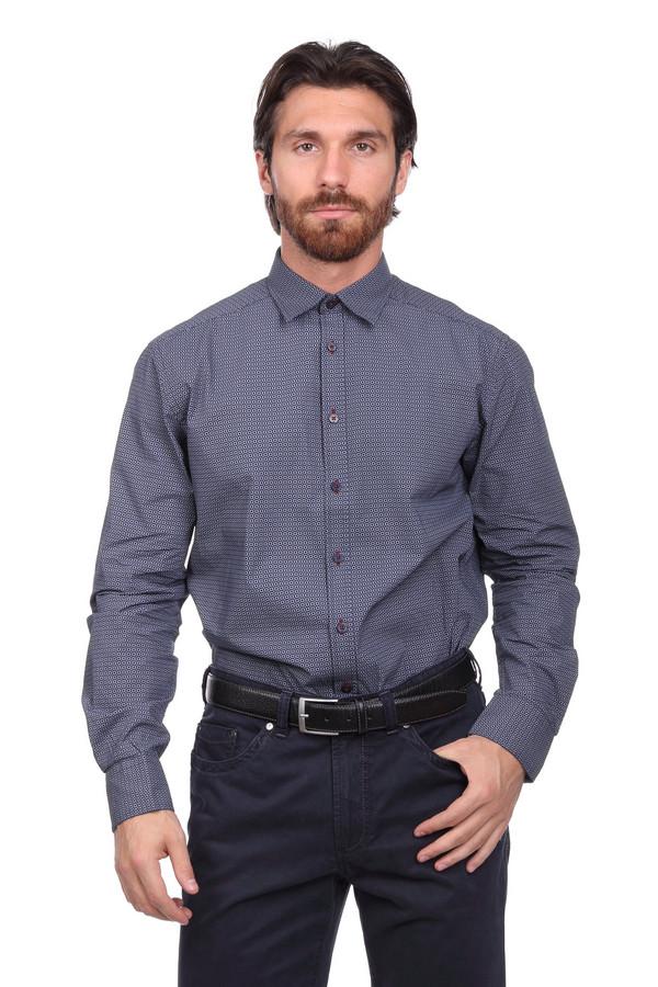 Рубашка с длинным рукавом CalamarДлинный рукав<br><br><br>Размер RU: 41-42<br>Пол: Мужской<br>Возраст: Взрослый<br>Материал: хлопок 100%<br>Цвет: Белый