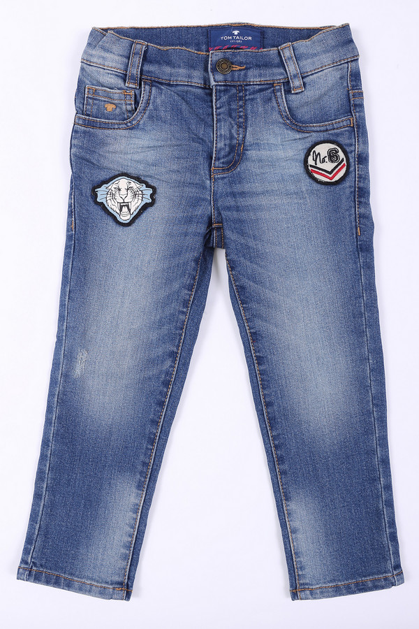 брюки tom tailor для мальчика, синие