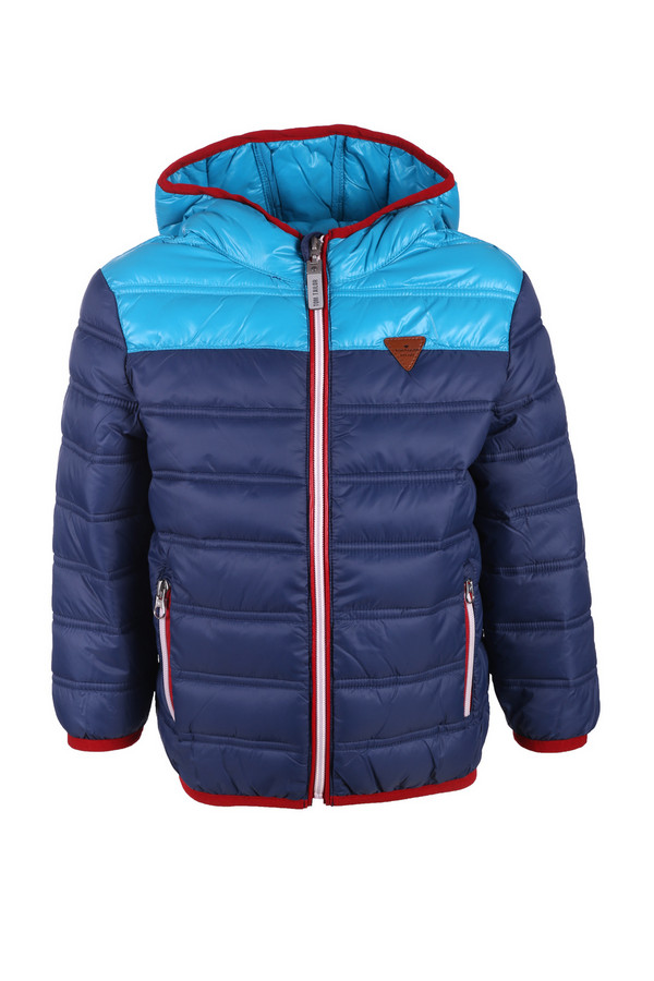 Куртка Tom TailorКуртки<br><br><br>Размер RU: 32-34;128-134<br>Пол: Мужской<br>Возраст: Детский<br>Материал: см. на вшивном ярлыке 0%<br>Цвет: Голубой
