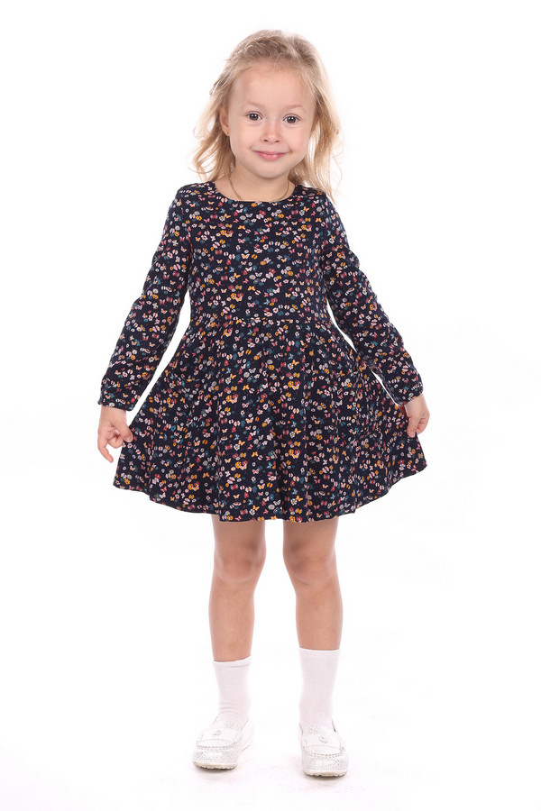 Платье Tom TailorПлатья<br><br><br>Размер RU: 30;116-122<br>Пол: Женский<br>Возраст: Детский<br>Материал: см. на вшивном ярлыке 0%<br>Цвет: Синий