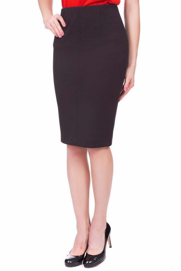 женская юбка-карандаш gardeur, черная