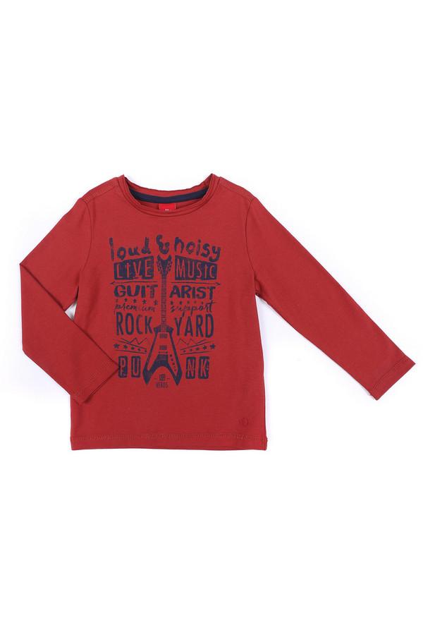 Футболки и поло s.OliverФутболки и поло<br><br><br>Размер RU: 28;104-110<br>Пол: Мужской<br>Возраст: Детский<br>Материал: хлопок 100%<br>Цвет: Красный