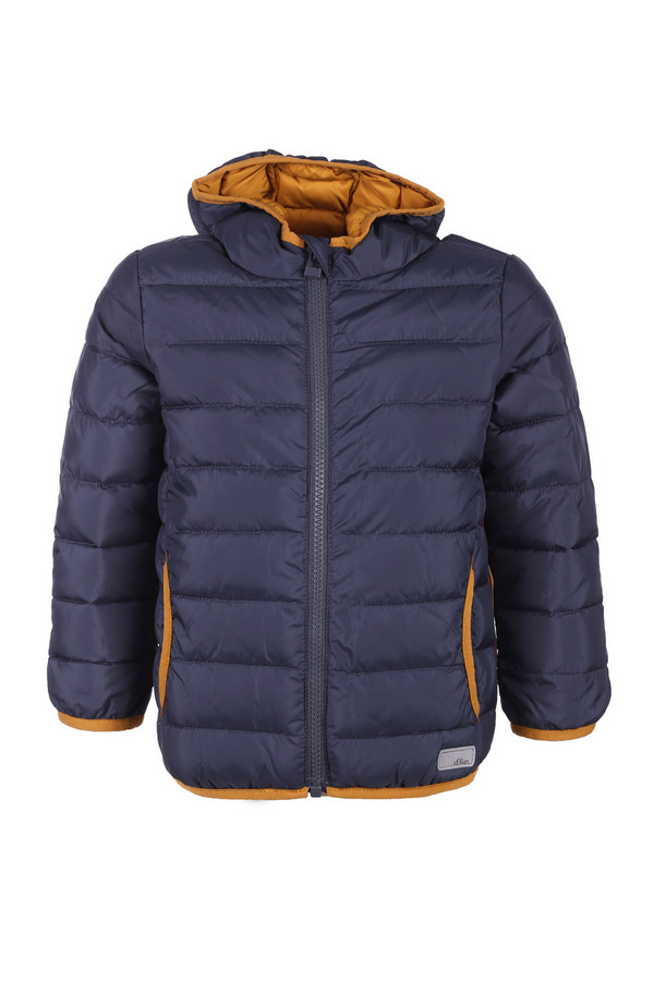 Куртка s.OliverКуртки<br><br><br>Размер RU: 28;104<br>Пол: Мужской<br>Возраст: Детский<br>Материал: полиэстер 100%, Состав_подкладка полиэстер 100%<br>Цвет: Синий