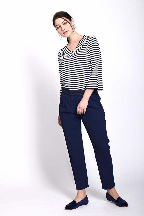 женские брюки boss orange, синие