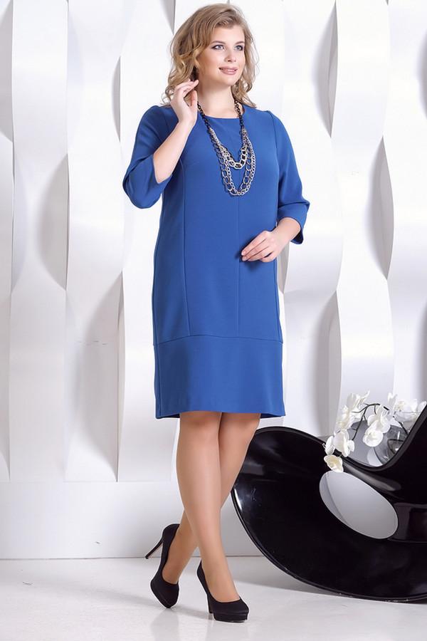 Платье HoroshaПлатья<br><br><br>Размер RU: 52<br>Пол: Женский<br>Возраст: Взрослый<br>Материал: эластан 5%, полиэстер 30%, вискоза 65%<br>Цвет: Синий