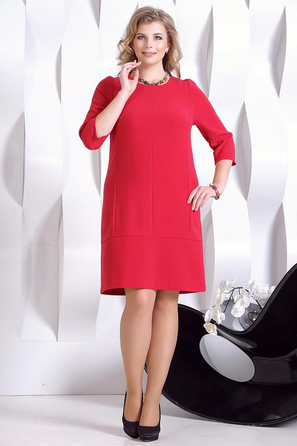 Платье HoroshaПлатья<br><br><br>Размер RU: 50<br>Пол: Женский<br>Возраст: Взрослый<br>Материал: эластан 5%, полиэстер 30%, вискоза 65%<br>Цвет: Красный