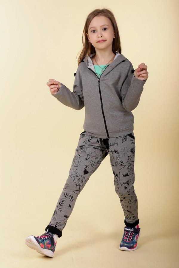 брюки brums для девочки, разноцветные