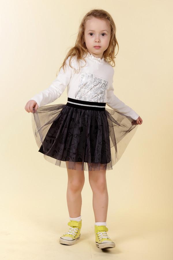 юбка brums для девочки, черная