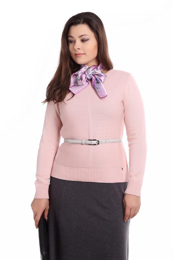 Пуловер Rabe collectionПуловеры<br><br><br>Размер RU: 48<br>Пол: Женский<br>Возраст: Взрослый<br>Материал: хлопок 50%, полиакрил 50%<br>Цвет: Розовый