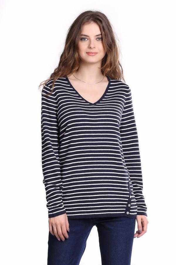 Пуловер Gerry WeberПуловеры<br><br><br>Размер RU: 44<br>Пол: Женский<br>Возраст: Взрослый<br>Материал: полиамид 25%, вискоза 45%, хлопок 27%, кашемир 3%<br>Цвет: Серый