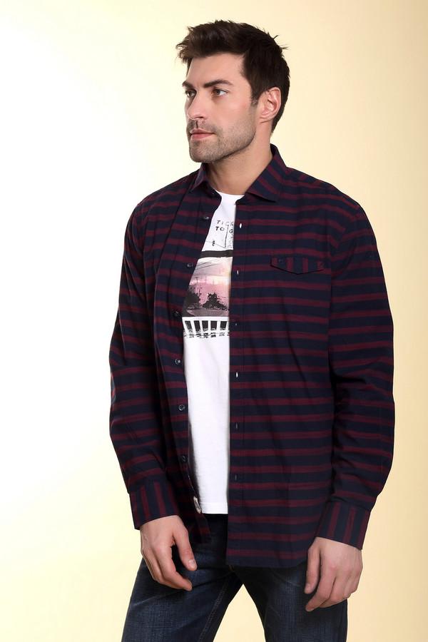 Рубашка с длинным рукавом LerrosДлинный рукав<br><br><br>Размер RU: 54-56<br>Пол: Мужской<br>Возраст: Взрослый<br>Материал: хлопок 100%<br>Цвет: Бордовый