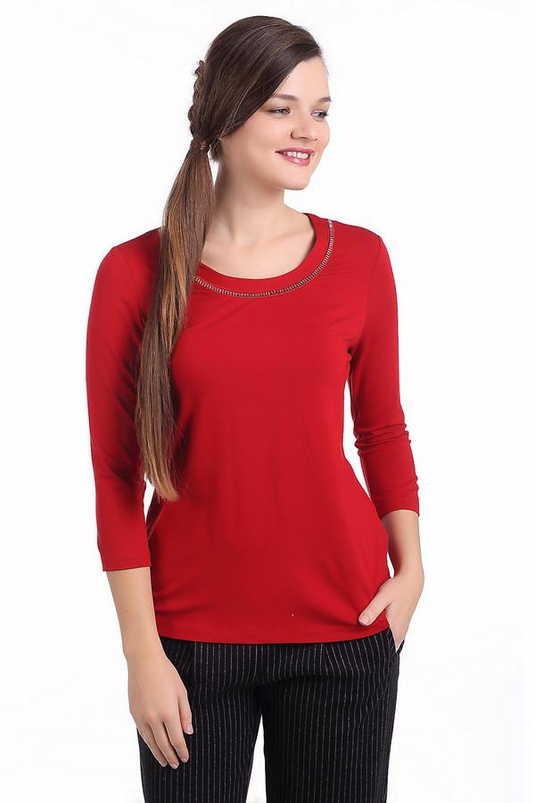 Футболка Betty BarclayФутболки<br><br><br>Размер RU: 48<br>Пол: Женский<br>Возраст: Взрослый<br>Материал: эластан 5%, вискоза 95%<br>Цвет: Красный