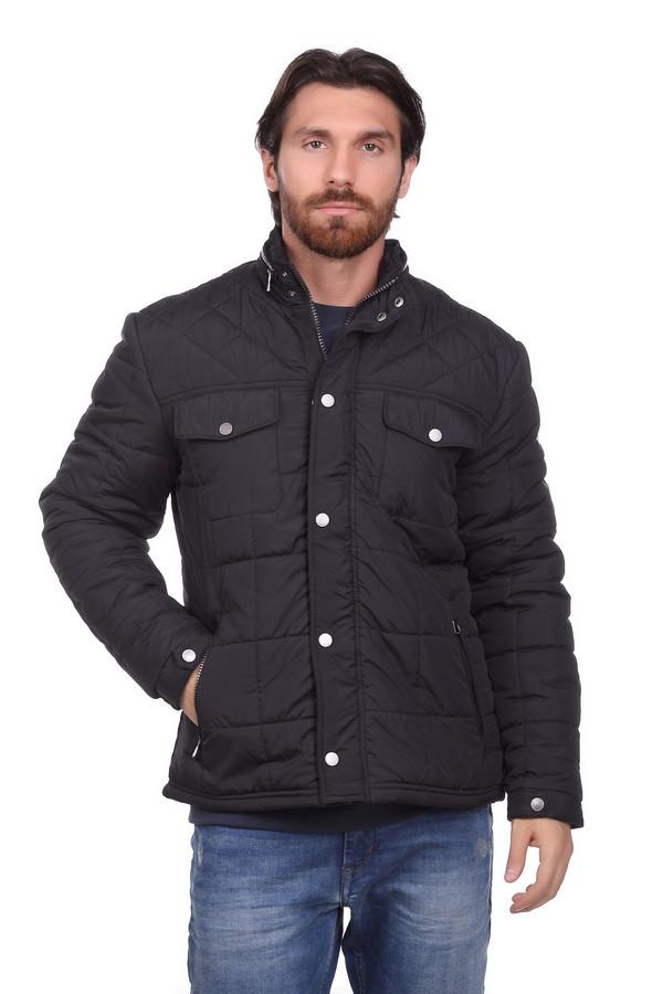 Куртка LerrosКуртки<br><br><br>Размер RU: 46-48<br>Пол: Мужской<br>Возраст: Взрослый<br>Материал: полиэстер 100%, Состав_подкладка полиэстер 100%<br>Цвет: Чёрный
