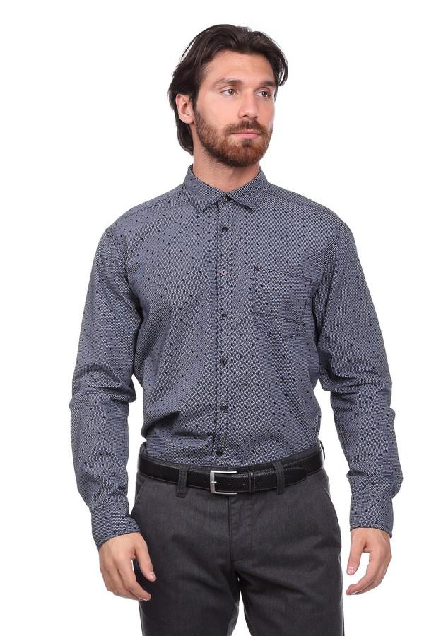 Рубашка с длинным рукавом CalamarДлинный рукав<br><br><br>Размер RU: 41-42<br>Пол: Мужской<br>Возраст: Взрослый<br>Материал: хлопок 100%<br>Цвет: Серый