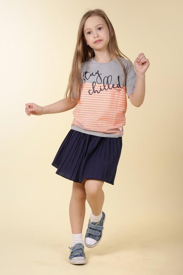 юбка sarabanda для девочки, синяя