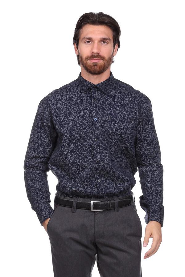 Рубашка с длинным рукавом CalamarДлинный рукав<br><br><br>Размер RU: 45-46<br>Пол: Мужской<br>Возраст: Взрослый<br>Материал: хлопок 100%<br>Цвет: Белый