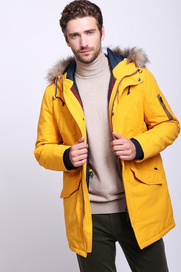 мужская куртка gaudi jeans, желтая