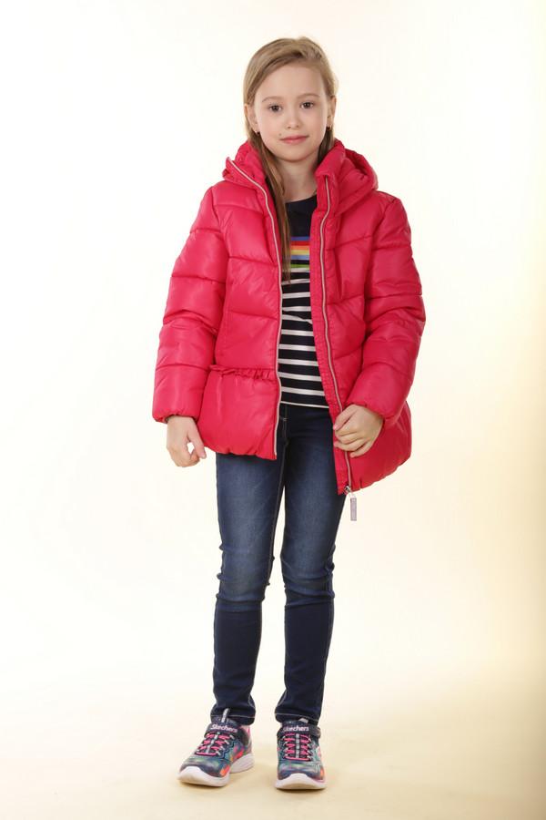 Куртка Tom TailorКуртки<br><br><br>Размер RU: 32-34;128-134<br>Пол: Женский<br>Возраст: Детский<br>Материал: см. на вшивном ярлыке 0%<br>Цвет: Красный