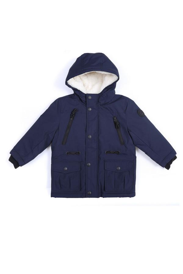 Куртка Tom TailorКуртки<br><br><br>Размер RU: 26;92-98<br>Пол: Мужской<br>Возраст: Детский<br>Материал: см. на вшивном ярлыке 0%<br>Цвет: Синий