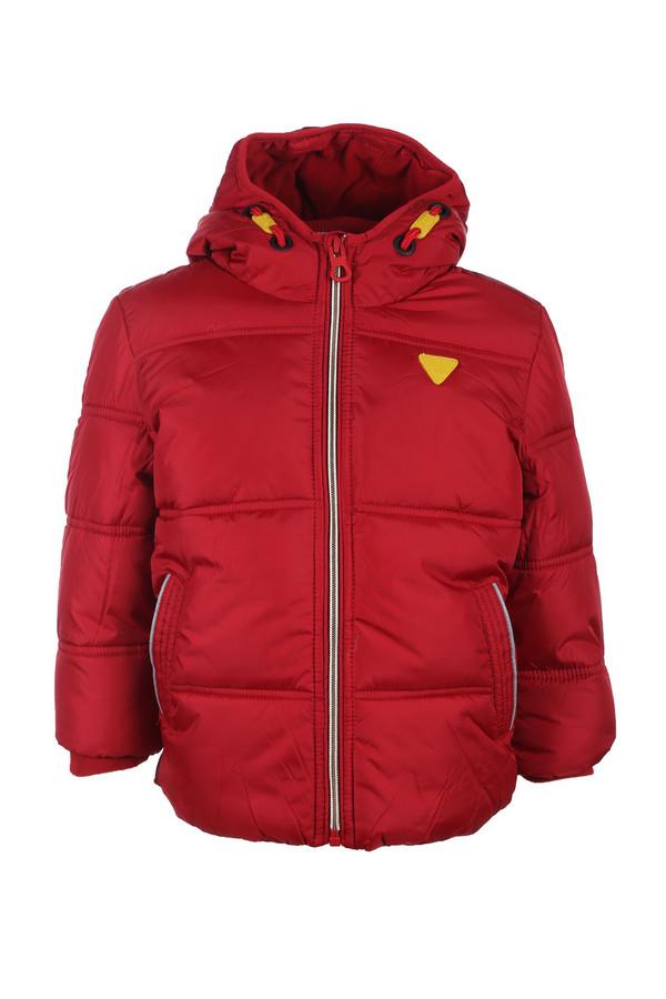 Куртка Tom TailorКуртки<br><br><br>Размер RU: 28;104-110<br>Пол: Мужской<br>Возраст: Детский<br>Материал: см. на вшивном ярлыке 0%<br>Цвет: Красный