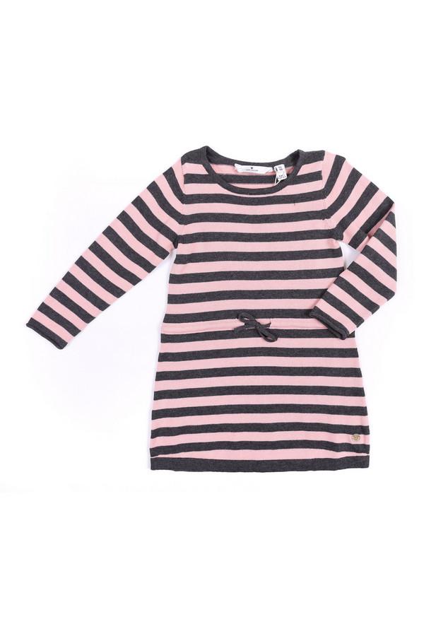 Платье Tom TailorПлатья<br><br><br>Размер RU: 28;104-110<br>Пол: Женский<br>Возраст: Детский<br>Материал: см. на вшивном ярлыке 0%<br>Цвет: Разноцветный