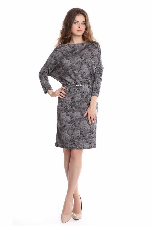 Платье ArgentПлатья<br><br><br>Размер RU: 50<br>Пол: Женский<br>Возраст: Взрослый<br>Материал: полиэстер 30%, вискоза 65%, лайкра 5%<br>Цвет: Серый