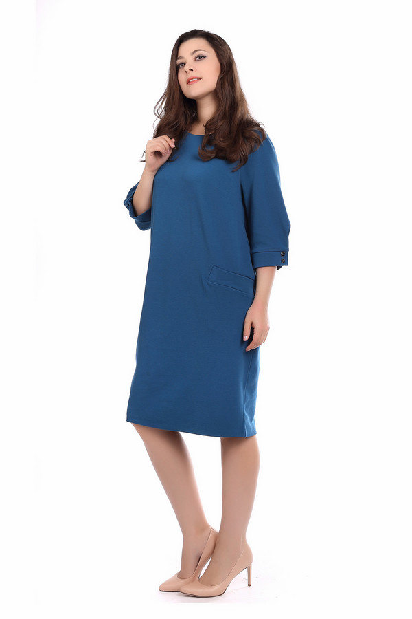 Платье ArgentПлатья<br><br><br>Размер RU: 54<br>Пол: Женский<br>Возраст: Взрослый<br>Материал: полиэстер 30%, вискоза 65%, лайкра 5%<br>Цвет: Синий