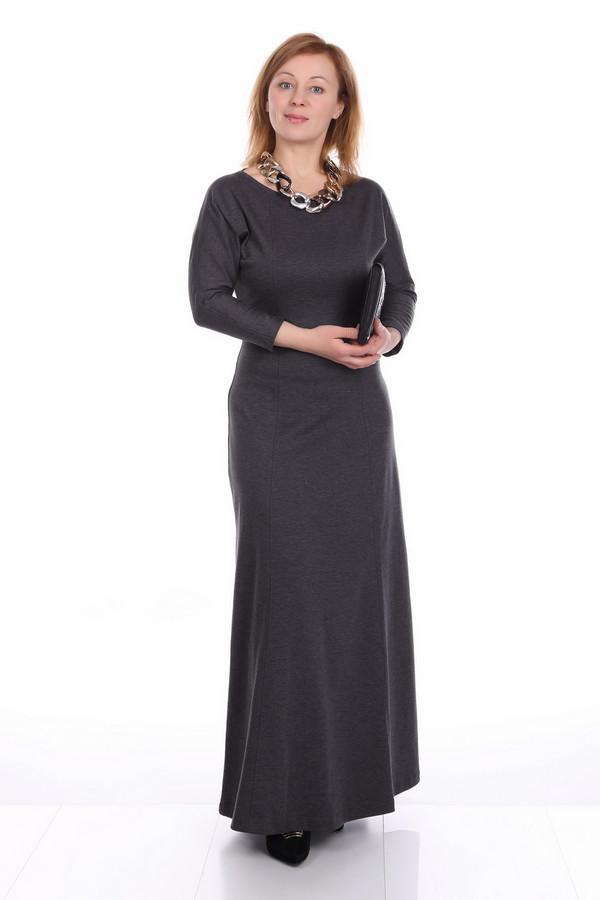 Платье ArgentПлатья<br><br><br>Размер RU: 48<br>Пол: Женский<br>Возраст: Взрослый<br>Материал: полиэстер 30%, вискоза 65%, лайкра 5%<br>Цвет: Серый