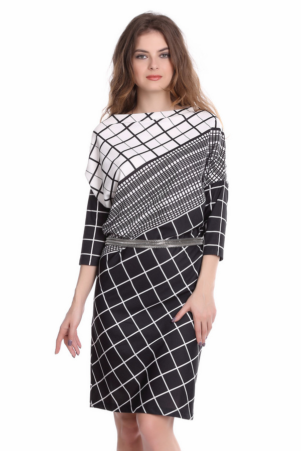 Платье ArgentПлатья<br><br><br>Размер RU: 52<br>Пол: Женский<br>Возраст: Взрослый<br>Материал: полиэстер 30%, вискоза 65%, лайкра 5%<br>Цвет: Белый