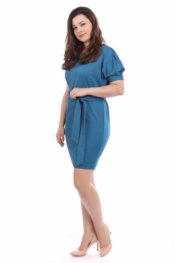 Платье ArgentПлатья<br><br><br>Размер RU: 52<br>Пол: Женский<br>Возраст: Взрослый<br>Материал: полиэстер 30%, вискоза 65%, лайкра 5%<br>Цвет: Синий
