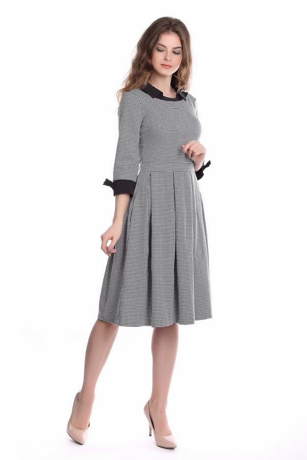 Платье ArgentПлатья<br><br><br>Размер RU: 42<br>Пол: Женский<br>Возраст: Взрослый<br>Материал: полиэстер 30%, вискоза 65%, лайкра 5%<br>Цвет: Белый