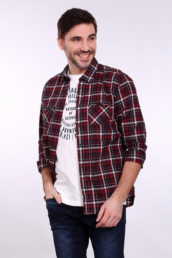 Рубашка с длинным рукавом Tom TailorДлинный рукав<br><br><br>Размер RU: 44-46<br>Пол: Мужской<br>Возраст: Взрослый<br>Материал: хлопок 100%<br>Цвет: Разноцветный