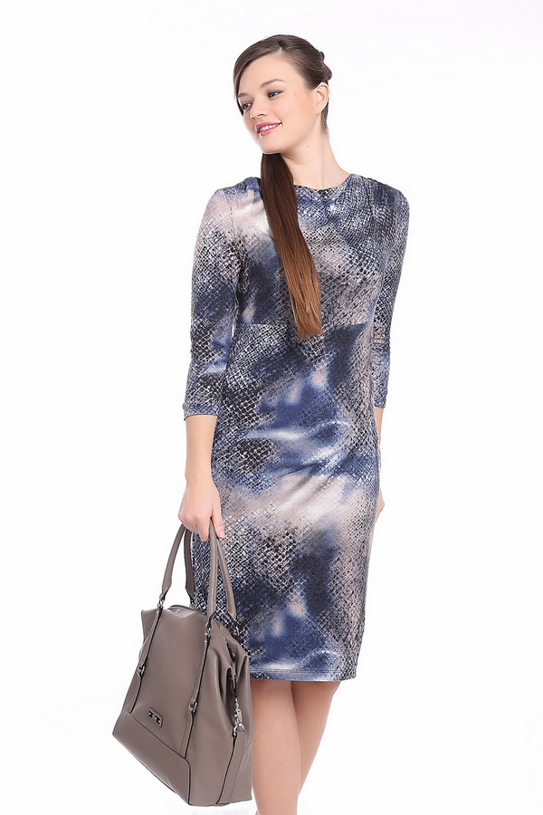 Платье Betty BarclayПлатья<br><br><br>Размер RU: 48<br>Пол: Женский<br>Возраст: Взрослый<br>Материал: эластан 5%, вискоза 76%, полиакрил 19%<br>Цвет: Разноцветный