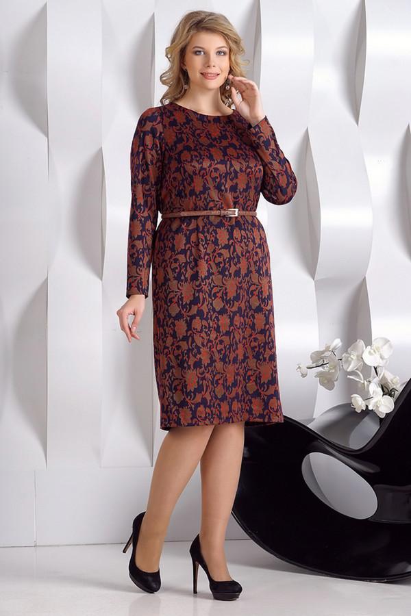 Платье LilanaПлатья<br><br><br>Размер RU: 48<br>Пол: Женский<br>Возраст: Взрослый<br>Материал: эластан 5%, вискоза 45%, полиэстер 50%<br>Цвет: Разноцветный