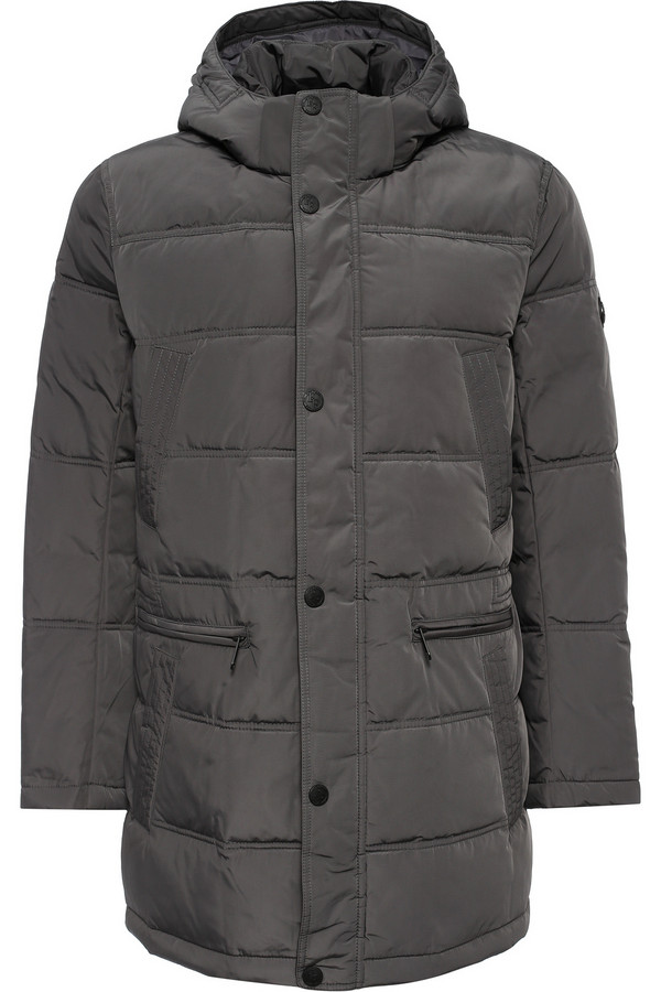Пальто FINN FLAREПальто<br><br><br>Размер RU: 44<br>Пол: Женский<br>Возраст: Взрослый<br>Материал: полиэстер 100%, Состав_наполнитель пух 80%, Состав_наполнитель перо 20%<br>Цвет: Серый